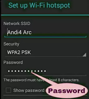 hotspot ke password kaise se kare