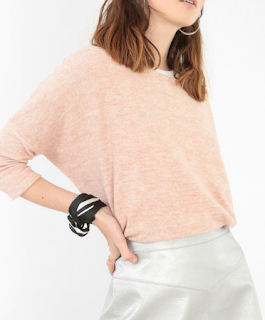 pull ultra doux rose pastel Pimkie