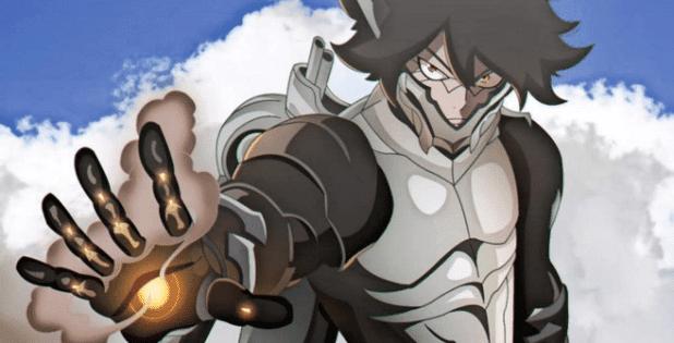 Wall Eehto - Anggota Spriggan 12 di Anime Fairy Tail