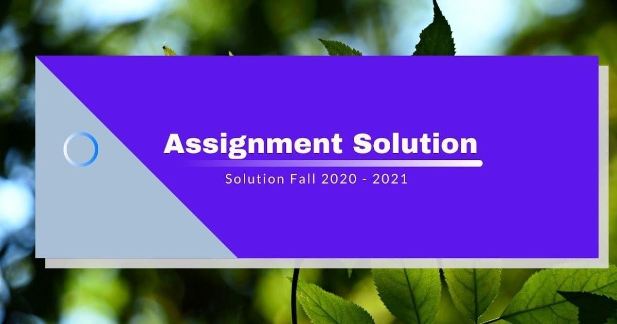 STA641 GDB Solution 2021 - VuDaily.com