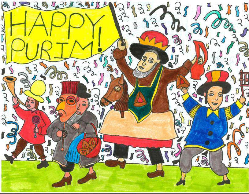 Purim Wishes Sweet Images