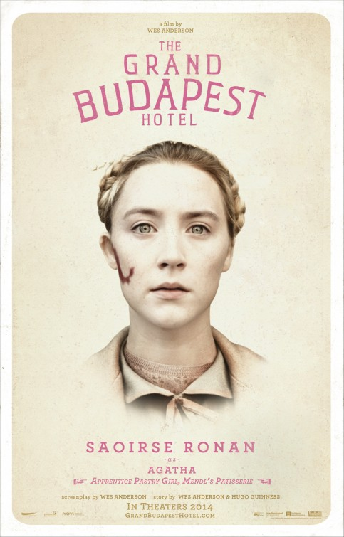 Grand Budapest Hotel movie poster