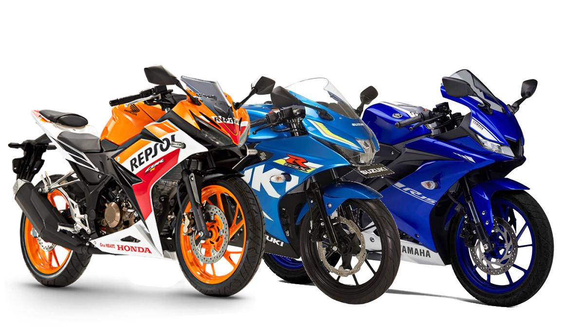 2017 Japanese 150cc Sport Bike Comparison