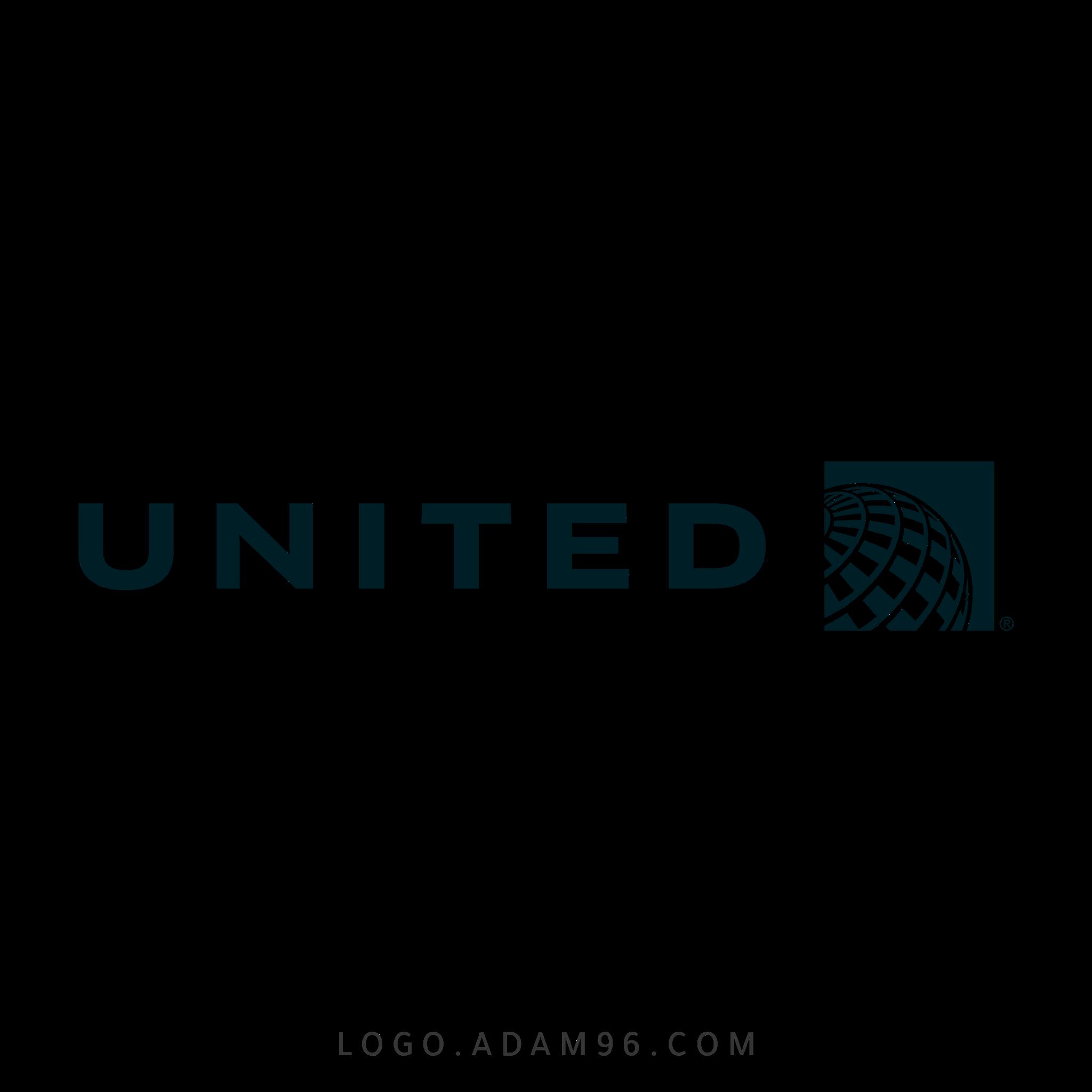 تحميل شعار الخطوط الجوية المتحدة لوجو شفاف Logo United Airlines PNG