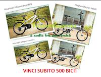 Logo Concorso ''Vinci una bici con Nestlè Cereali'': in palio 500 biciclette!