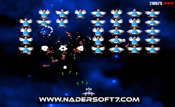تحميل لعبه الفراخ 1 Chicken Invaders للكمبيوتر كامله مضغوطه