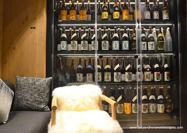 bar in Miyako restaurant Dubai