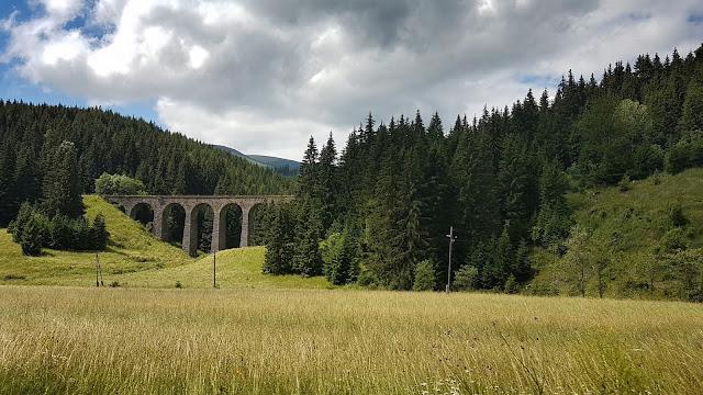 Wiadukt kolejowy w Telgart
