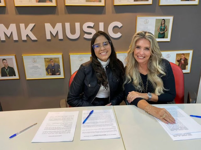 Eula Cris assina com a MK Music prepara lançamento de single