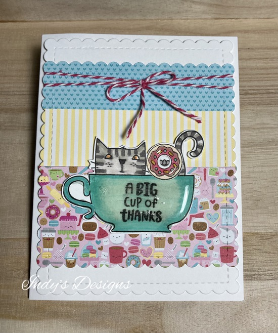 A big cup of thanks features The Cat's Pajamas and Newton's Nook Designs
