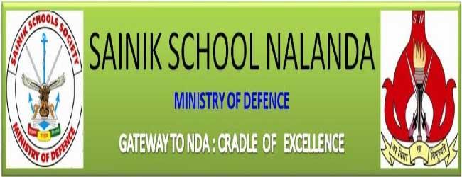 Sainik School Nalanda Recruitment 2020