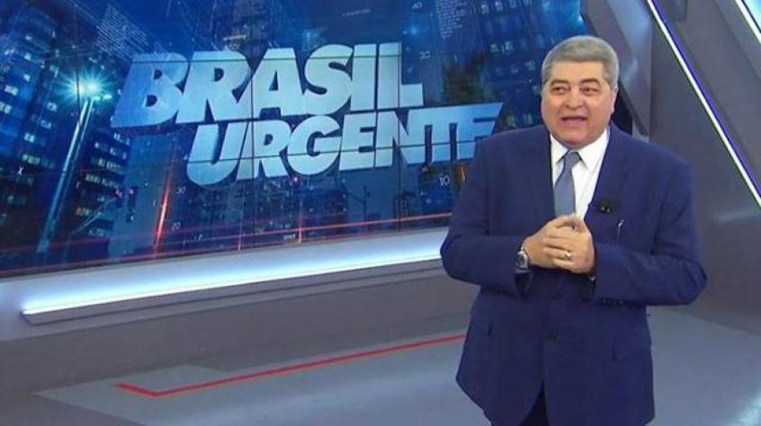 O apresentador José Luis Datena voltou a criticar o presidente Jair Bolsonaro (sem partido) durante a exibição, ao vivo, do programa 'Brasil Urgente' nesta segunda-feira (12).