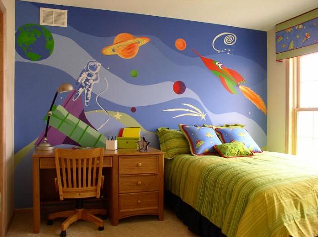 Dormitorios infantiles de universo - Juegos de decorar habitaciones grandes ...