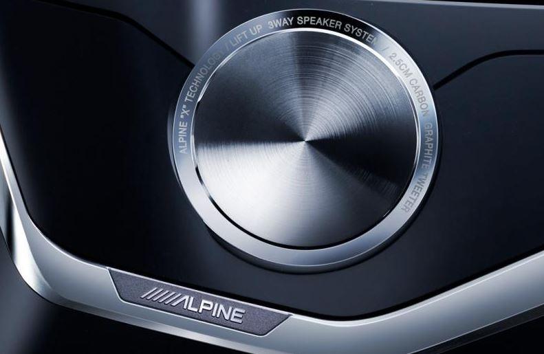 Alpine 3 way speaker system