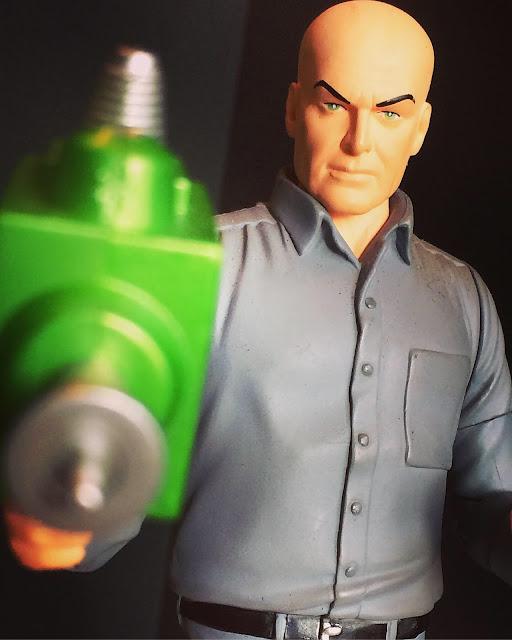 Silver Age Lex Luthor figure DC Direct