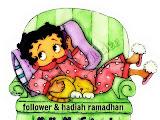 A GiveAway : Follower dan Hadiah Di Bulan Ramadhan