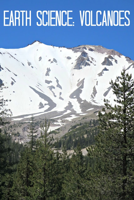 Learning about volcanoes with a visit to Lassen Volcanic National Park