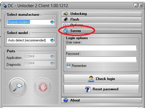 How to unlock HUawei E303 with DC Unlocker 100 percent