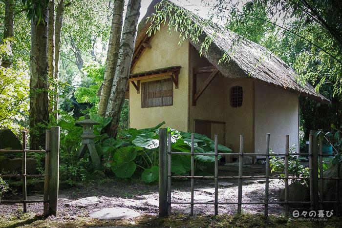 jardin japonais musica nigella, pavillon de thé