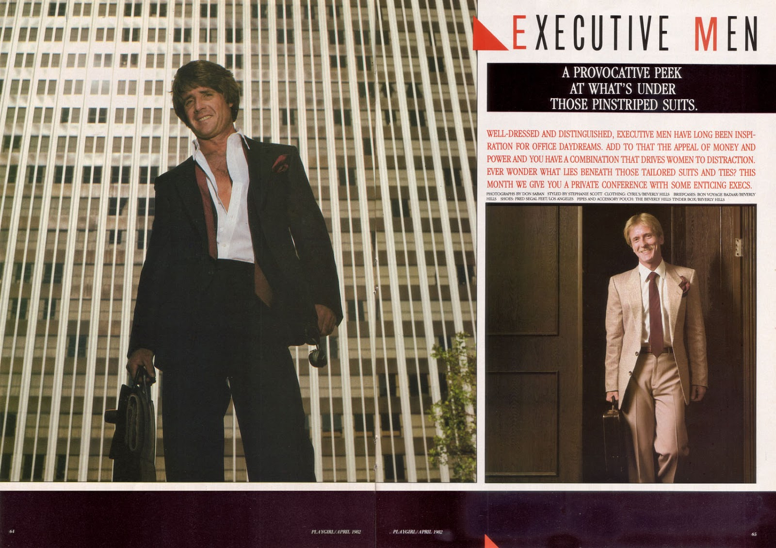 Welcome To My World  Executive Men - Playgirl - April -6800