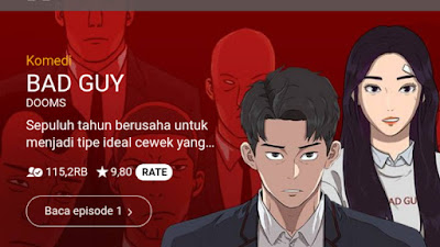 Baca komik bad guy Webtoon naver
