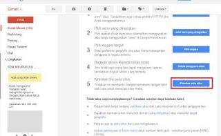 cara daftrakan blog ke google webmaster tool