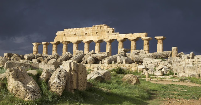 Tormenta y antigua Roma