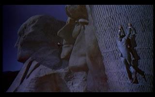 Con la muerte en los talones Monte Rushmore