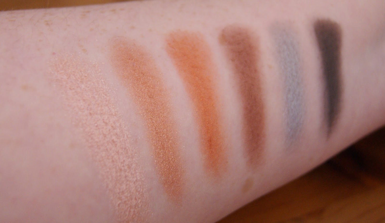 Makeup Revolution Girl Panic Row 2 Swatches