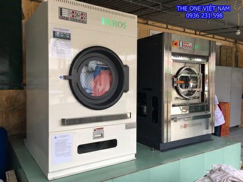 Máy giặt sấy công nghiệp cho công ty thực phẩm