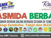 Desain Spanduk Berbagi Takjil SMK Yasmida Ambarawa