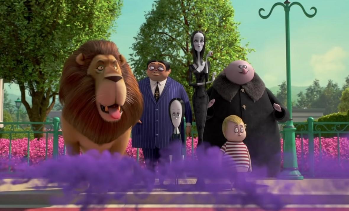 rodzina Addamsów cała rodzin