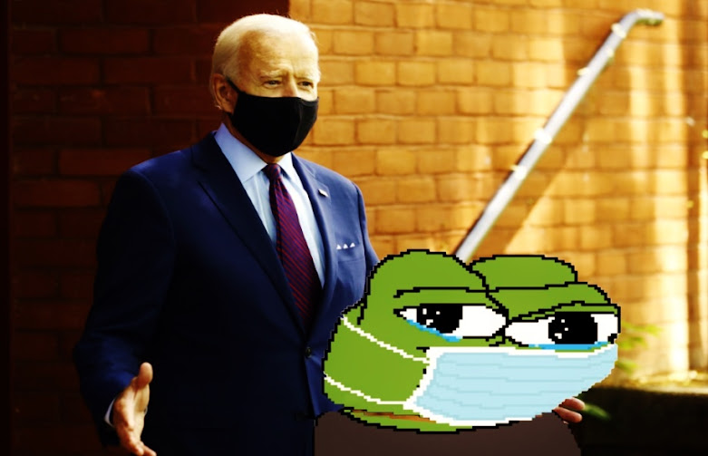 masked Pepe endorsement shocks many