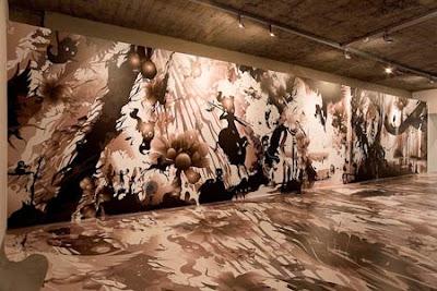 Exposición de cristal en el Museo de arte Reykjavik.