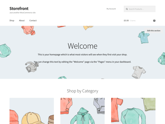 WordPress Tema-Storefront