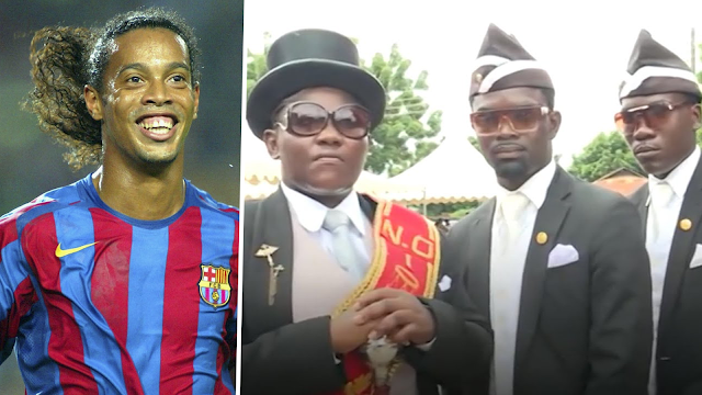 The Coffin Dance Ingin Antar Ronaldinho