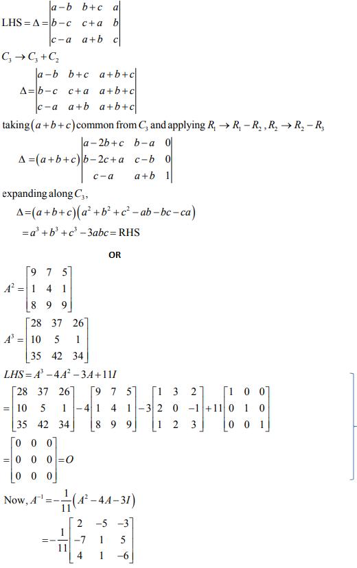 ncert solution class 12th math Answer 33