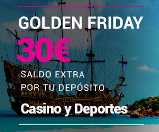 Goldenpark recarga 30€ Golden Friday 3-7-2020