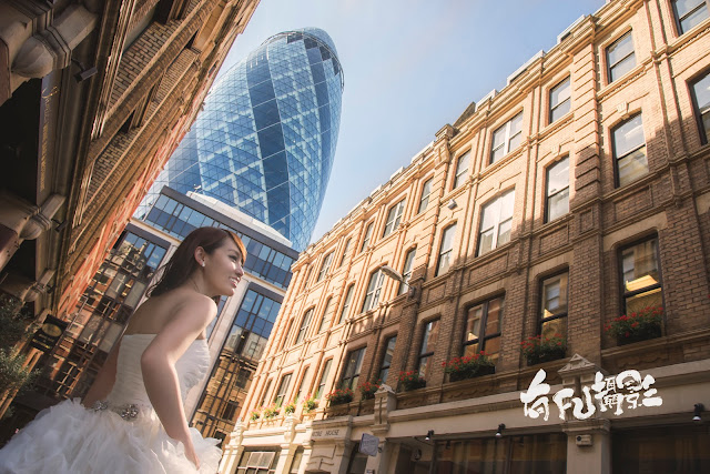 倫敦婚紗  聖瑪莉艾克斯30號(30 St. Mary Axe) London Prewedding Photography