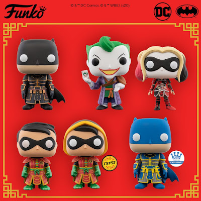 DC Imperial Palace Pop! DC Comics Vinyl Figures by Funko