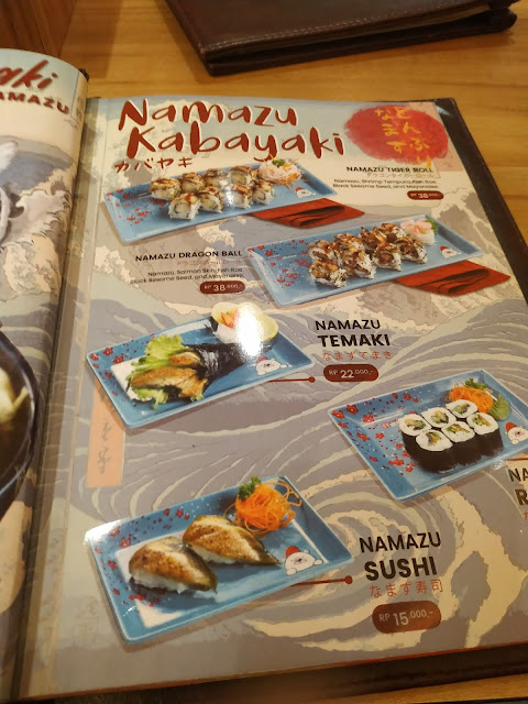 daftar menu ichiban sushi