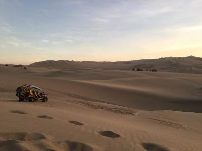 el arenero y las dunas