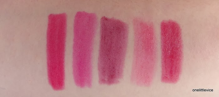 comparison swatches