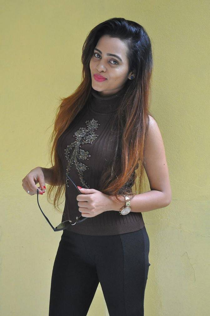 Geeth Shah At Virus Movie Success Meet Event Gallery