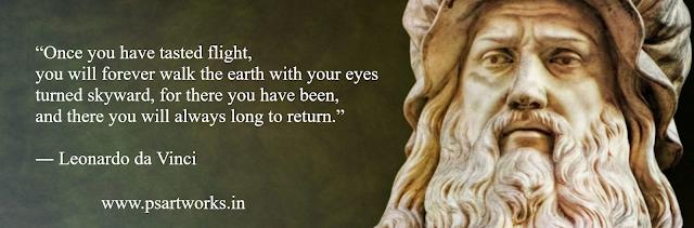 da Vinci quotes
