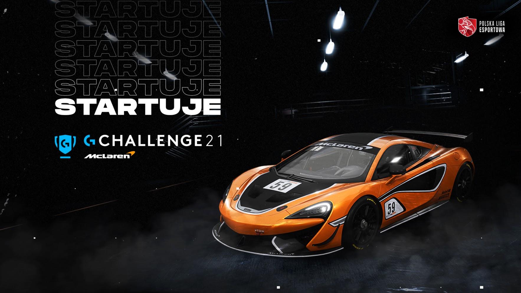 McLaren Challange 2021 Logitech G