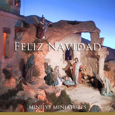 minilys miniatures navidad belen