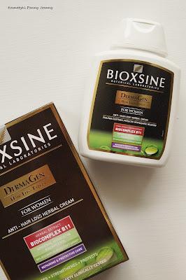 przeciw wypadaniu włosów Bioxine