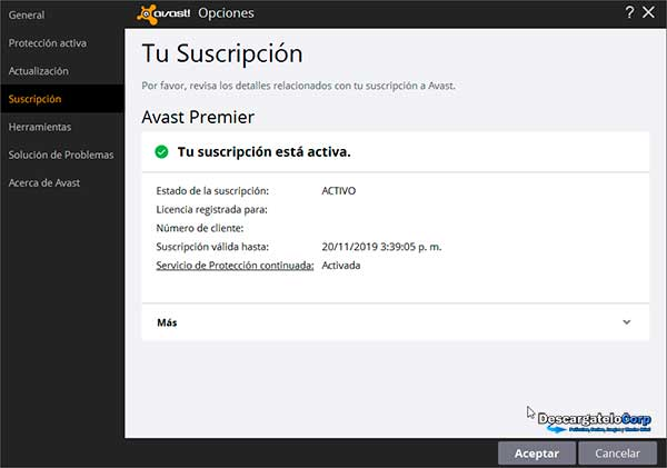 Avast Premier Antivirus 2016 Licencia Full FINAL