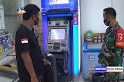 Pelaku Gagal Bobol ATM Di Minimarket, Brankas Sempat Di Las